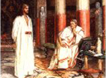 What is truth? Jesus before Pilate