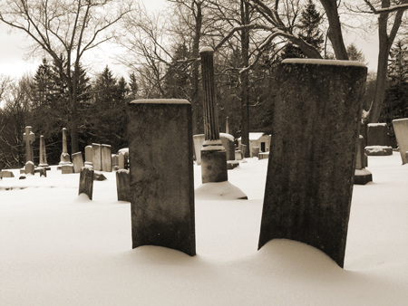 a Christless grave
