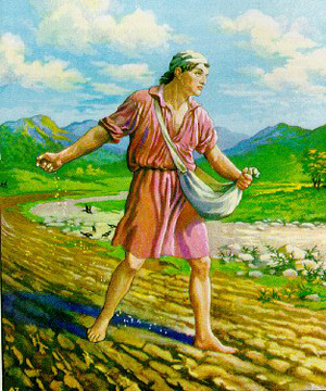 Bible parable sower and seed